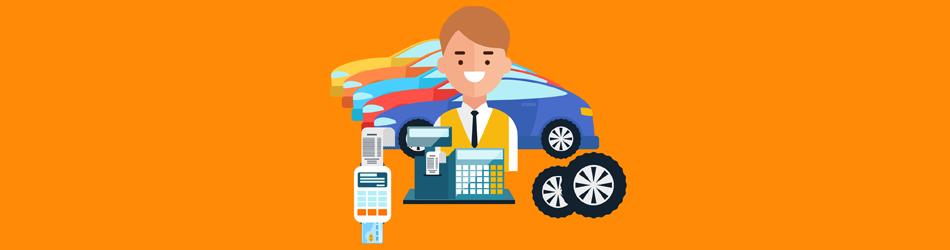 car negotiation Illustration