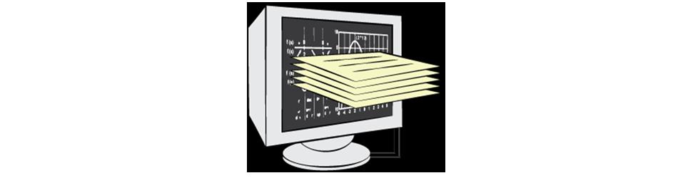 Financial Risk Management Software Illustration