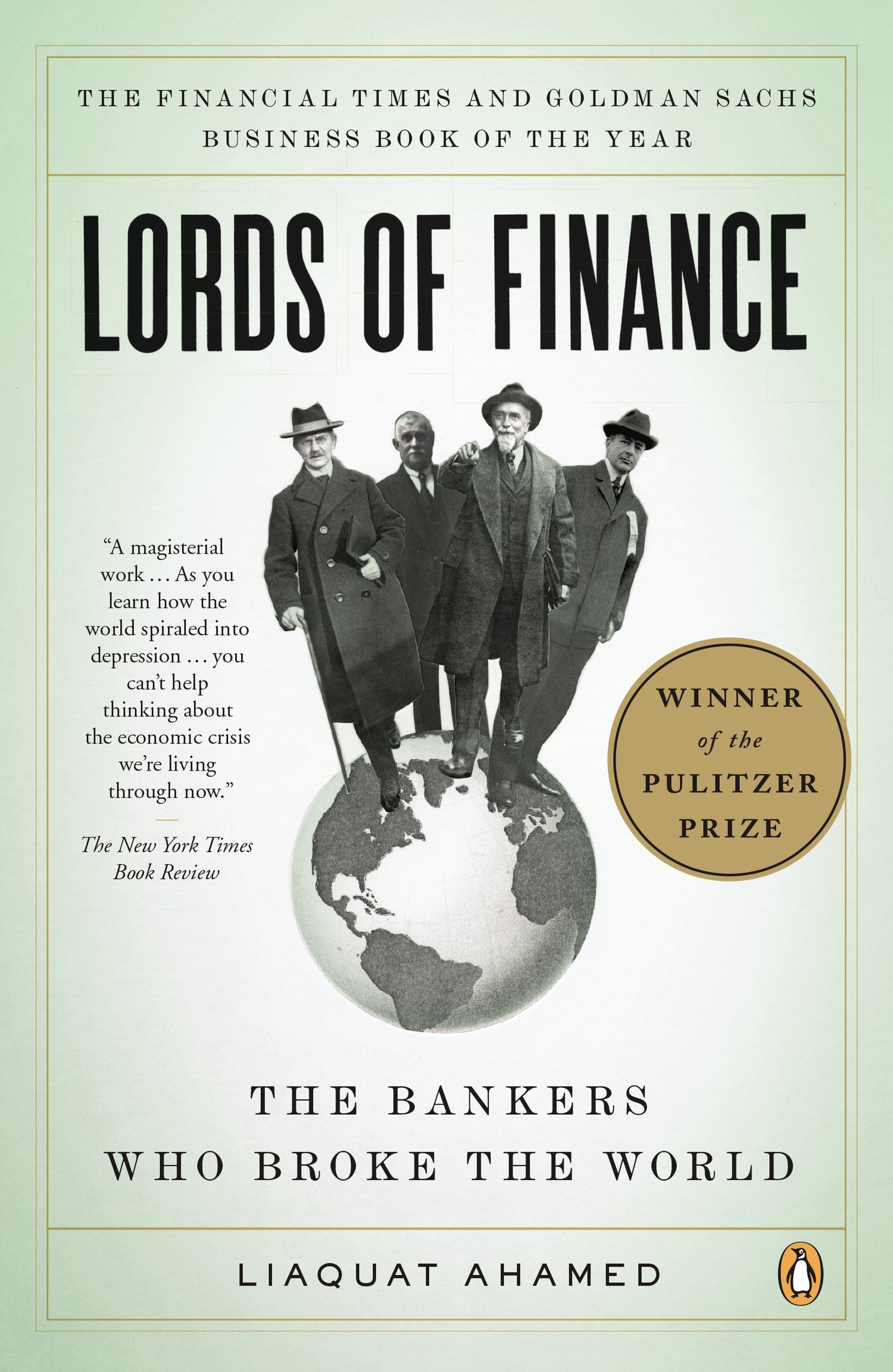 """""""Lords of Finance: The Bankers Who Broke the World"""""""