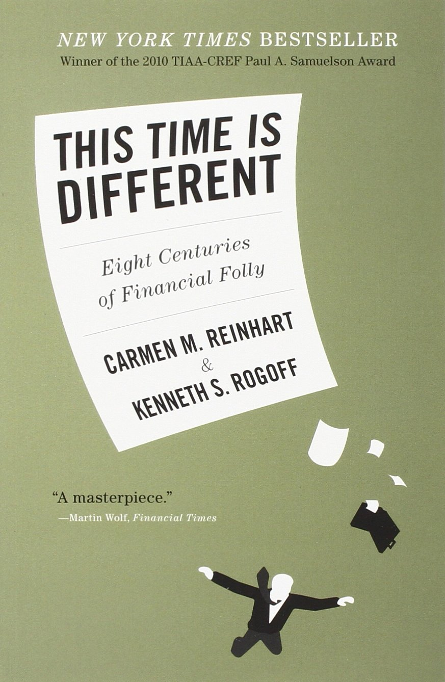 """""""This Time Is Different: Eight Centuries of Financial Folly"""""""