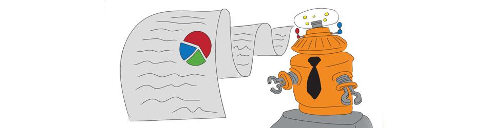 Robot Advisor Illustration