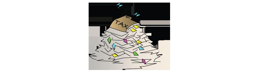 tax rebate illustration
