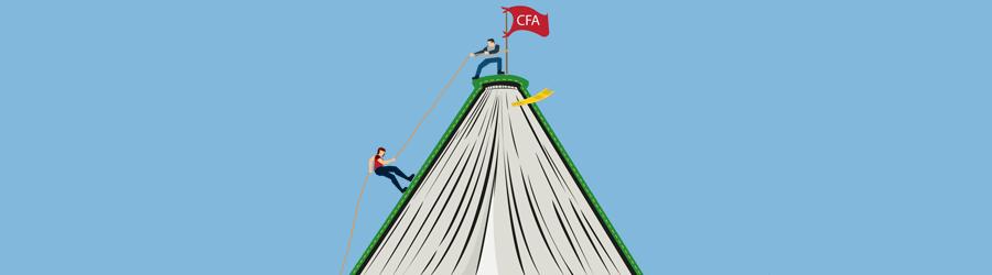 CFA Pass rates